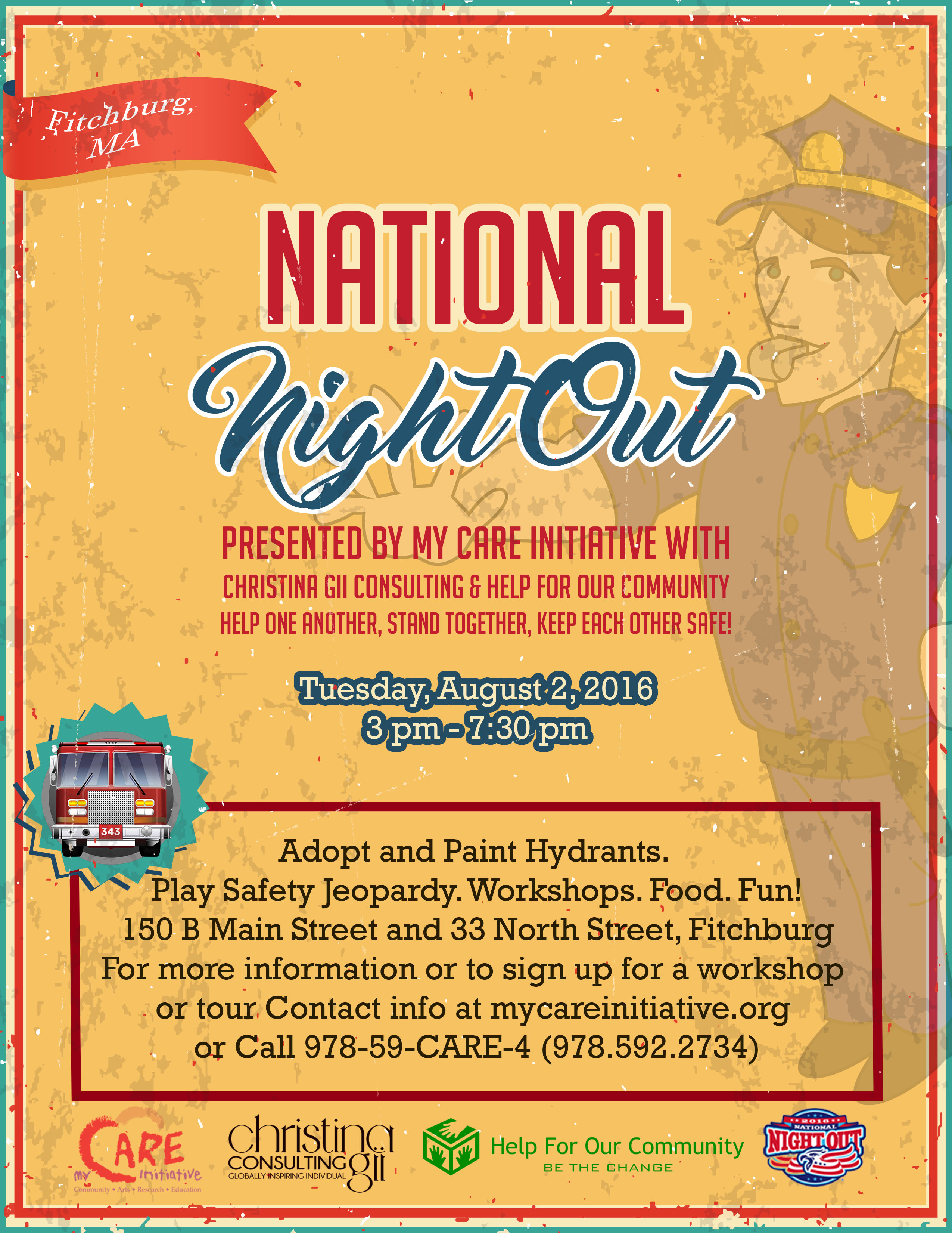 National Night Out 2016 Fun Flyer